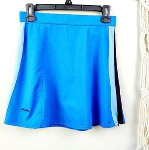 Bolle Sport  Blue Tennis Skirt Size 6